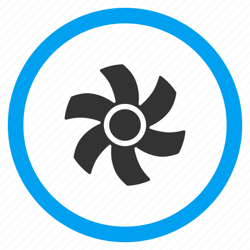 air cooler, computer fan, motor, propeller, rotor, screw, turbine icon