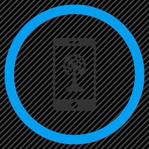 gamepad, phone, radio control, signal, smartphone, wifi antenna, wireless icon
