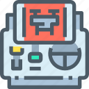 control, remote, robot, transport, vehicle icon
