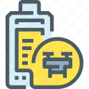 battery, drone, robot, transport, vehicle icon