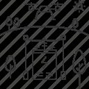 drone, electricity, energy, power, substation, uav
