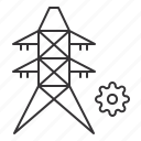 energy, gear, power, settings, tower, transmission