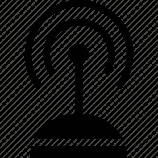 antenna, satellite, signal, technology icon
