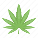 drug, hemp, leaf, marijuana, plant icon