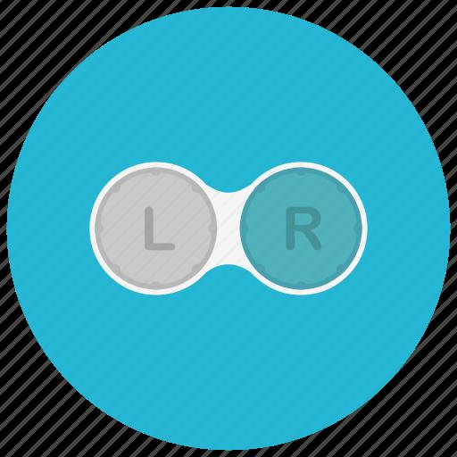 contacts, container, drugstore, eye, prescription, sight icon