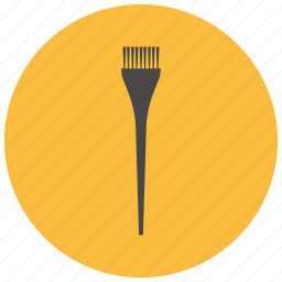 brush, color, drugstore, dying, hair, hairdresser, paint icon