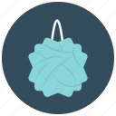 clean, drugstore, hygiene, loofa, luffa, shower icon
