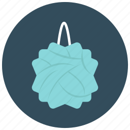 clean, drugstore, hygiene, loofa, luffa, shower icon