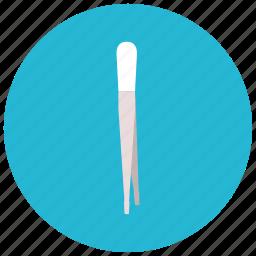 drugstore, eyebrows, pincet, pluk, splinter icon