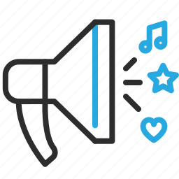 advertising, marketing, megaphone, speaker icon