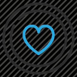 add, bookmark, favorite, heart, love icon