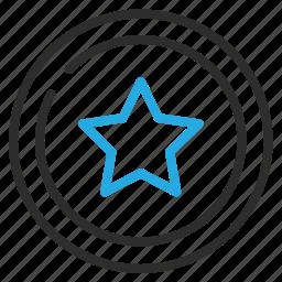 add, favorite, star, wishlist icon