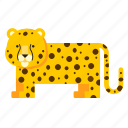 animal, cheetah, leopard, wild icon