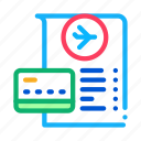 card, check, duty, payment, shop, store icon