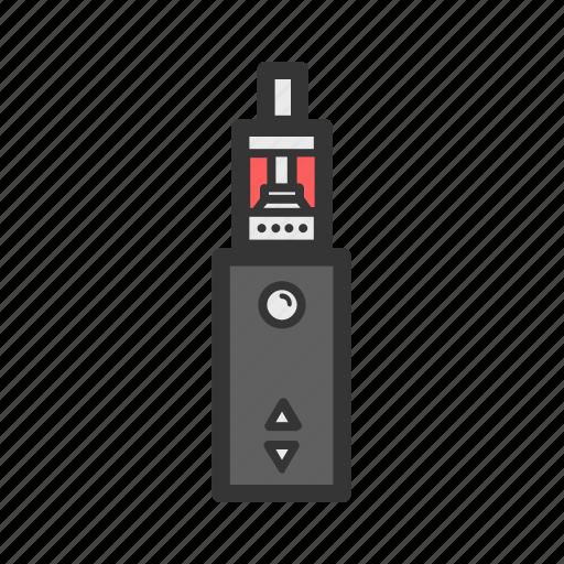 cigarette, device, e-cigarettes, electronic, vape, vaper icon
