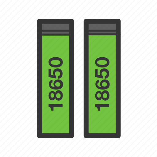 accumulator, battery, e-cigarettes, power, vape, vaper, vaping icon