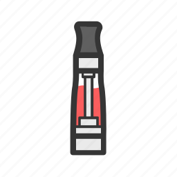 clearomizer, clearomizers, e-cigarettes, vape, vaper, vaping icon