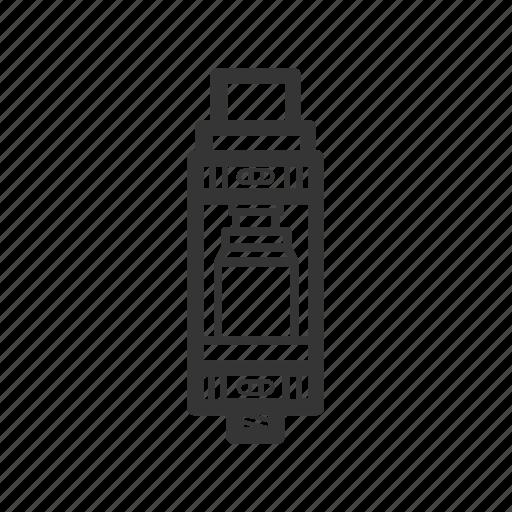 atomizer, e-cigarettes, rta, vape, vaper, vaping icon