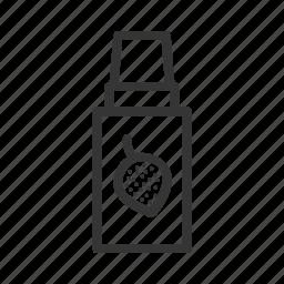bottle, e-cigarettes, liquid, vape, vaper icon