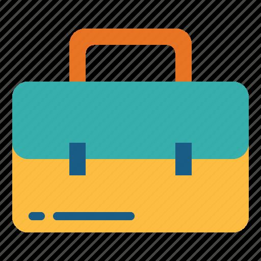 bag, briefcase, suitcase icon