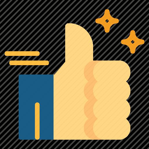 like, thumb up icon