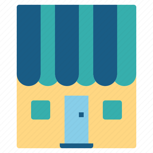 home, online shop, store icon