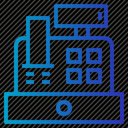 cash, cash register, payment, purchase icon