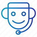 customer, customer service, support icon