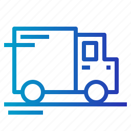 cargo, delivery, delivery truck icon