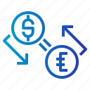 currency, exchange icon
