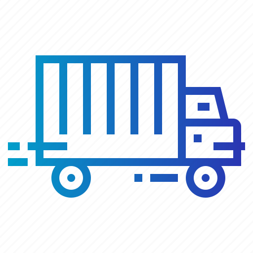 shipping, transport, truck, trucking icon