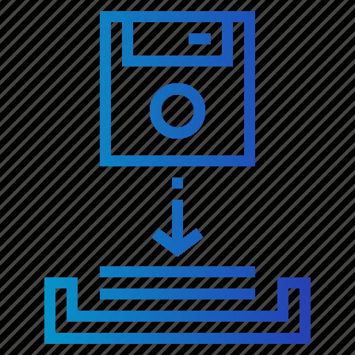 cloud, computing, data, download, multimedia, option, storage icon