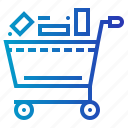 cart, commerce, delete, market, shop icon