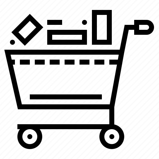 cart, commerce, delete, market, shop icon