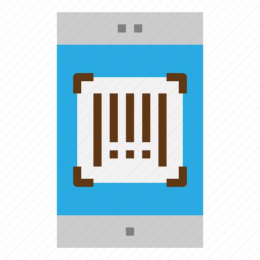 barcode, code, mobile, scan icon