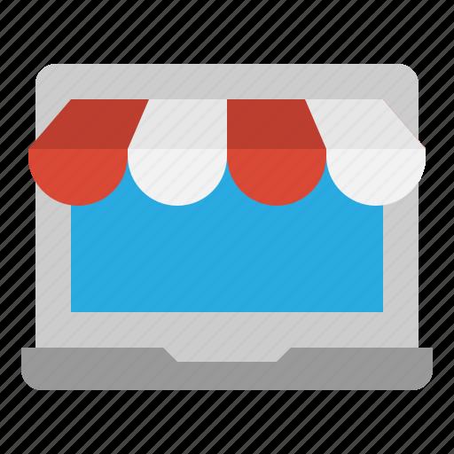 online, shop, store, website icon