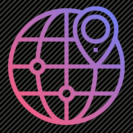 gps, location, map, navigation icon
