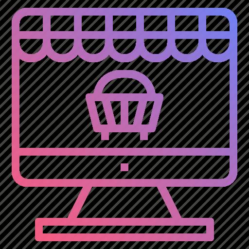 basket, cart, online, shop, shopping icon