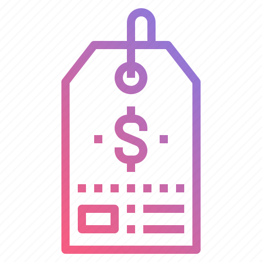 commerce, label, price, tag icon