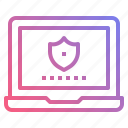 firewall, protection, safety, security, verified icon