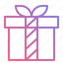 box, gift, ribbon, surprise icon