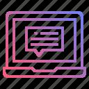 chat, online, service, talk, website icon
