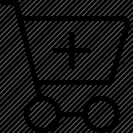 add, cart, ecommerce, new, shopping, shoppingcart icon