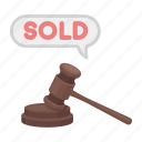 auction, deal, e-commerce, purchase, sold, trade