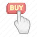 buy, deal, e-commerce, gesture, purchase, trade icon