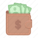 cash, deal, e-commerce, money, purchase, trade, wallet