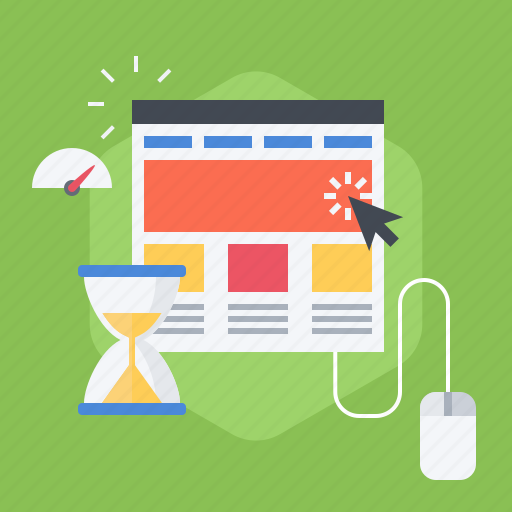 bounce rate, on, pageviews, performance indicator, session duration, site, time icon
