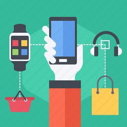 cross, phone, sell, selling, selling technique, smartwatch, up icon