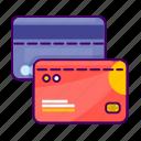 card, credit, debit, ecommerce, money, visa icon