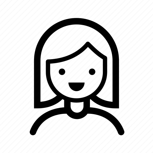 avatar, face, female, girl, operator, support, user icon